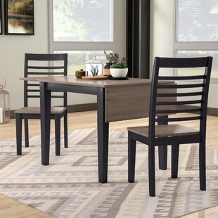 Shepherd 3 Piece Dining Set Union Rustic