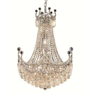 Kasha 18-Light Empire Chandelier by Willa Arlo Interiors