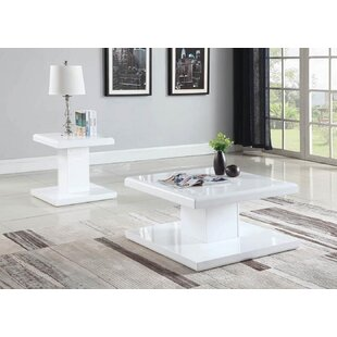 Bratton 2 Piece Coffee Table Set by Orren Ellis