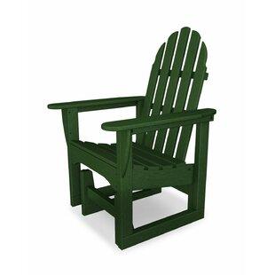 Classic Adirondack Glider Chair