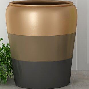 NU Steel Horizon Stainless Steel Waste Basket
