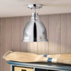 Bodalla 1-Light Semi Flush Mount