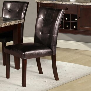 Shop For Castle Heights Parsons Chair (Set of 2) by Red Barrel Studio Reviews (2019) & Buyer's Guide