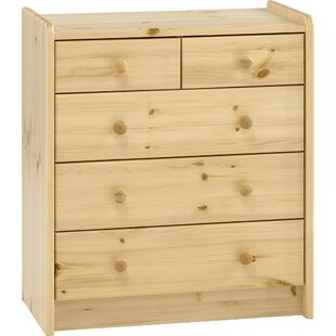 Tot To Teen 5 Drawer Chest Of Drawers By Harriet Bee