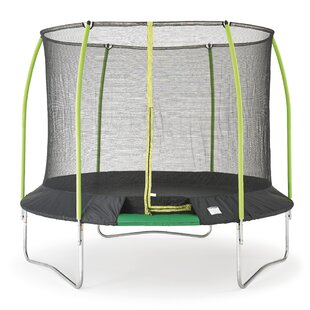 Challenger 10' Round Trampoline With Safety Enclosure By TP Toys