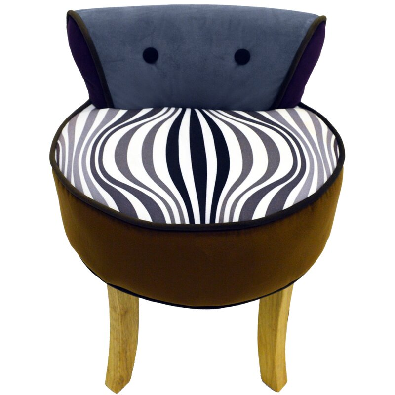 Low Back Dressing Table Stool