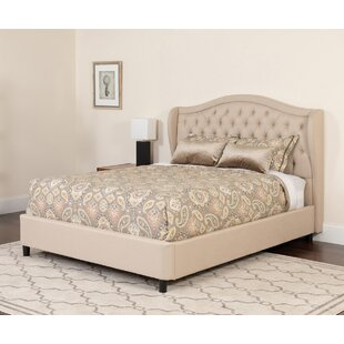 Quimby Tufted Upholstered Platform Bed by House of Hampton