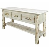 Deleon 58 Solid Wood Console Table by Loon Peak®