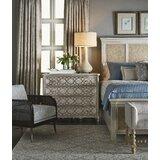 Serenity Cera Eclectic Bedroom 4 Drawer Dresser by Fine Furniture Design