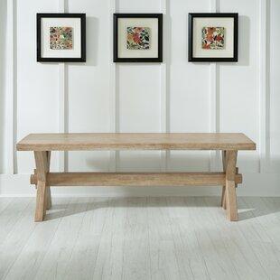 One Allium Way Kathy Wood Bench