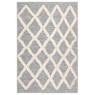 Veun Trellis Gray/Beige Indoor/Outdoor Area Rug