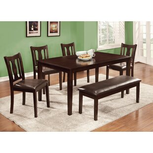 Mesnier 6 Piece Dining Set Hokku Designs
