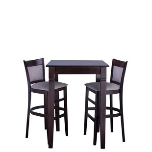 Iron Acton 3 Piece Pub Table Set
