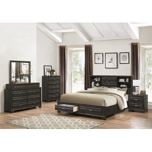 Blasco 5 Piece Platform Bedroom Set by World Menagerie