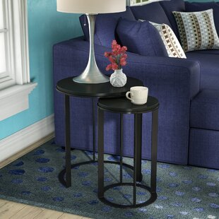 Maureen 2 Piece Nesting End Tables by Wad..