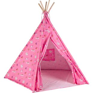 Trademark Innovations Canvas Play Teepee