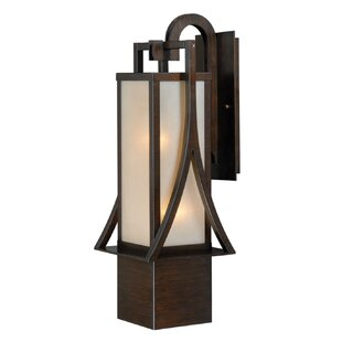 Port Lincoln 1-Light Outdoor Wall Lantern by Loon Peak