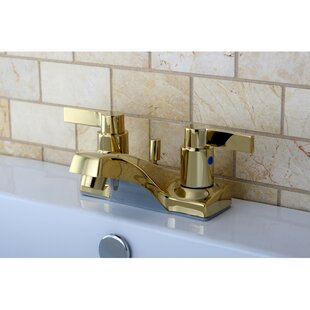 Kingston Brass NuvoFusion Centerset Bathroom Faucet with Pop-Up Drain Image