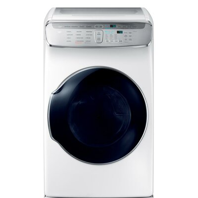 7.5 cu. ft. High Efficiency Electric Dryer with Multi-Steam Samsung Color: White