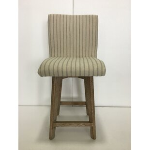 Kohlmann Swivel Bar Stool by Gracie Oaks