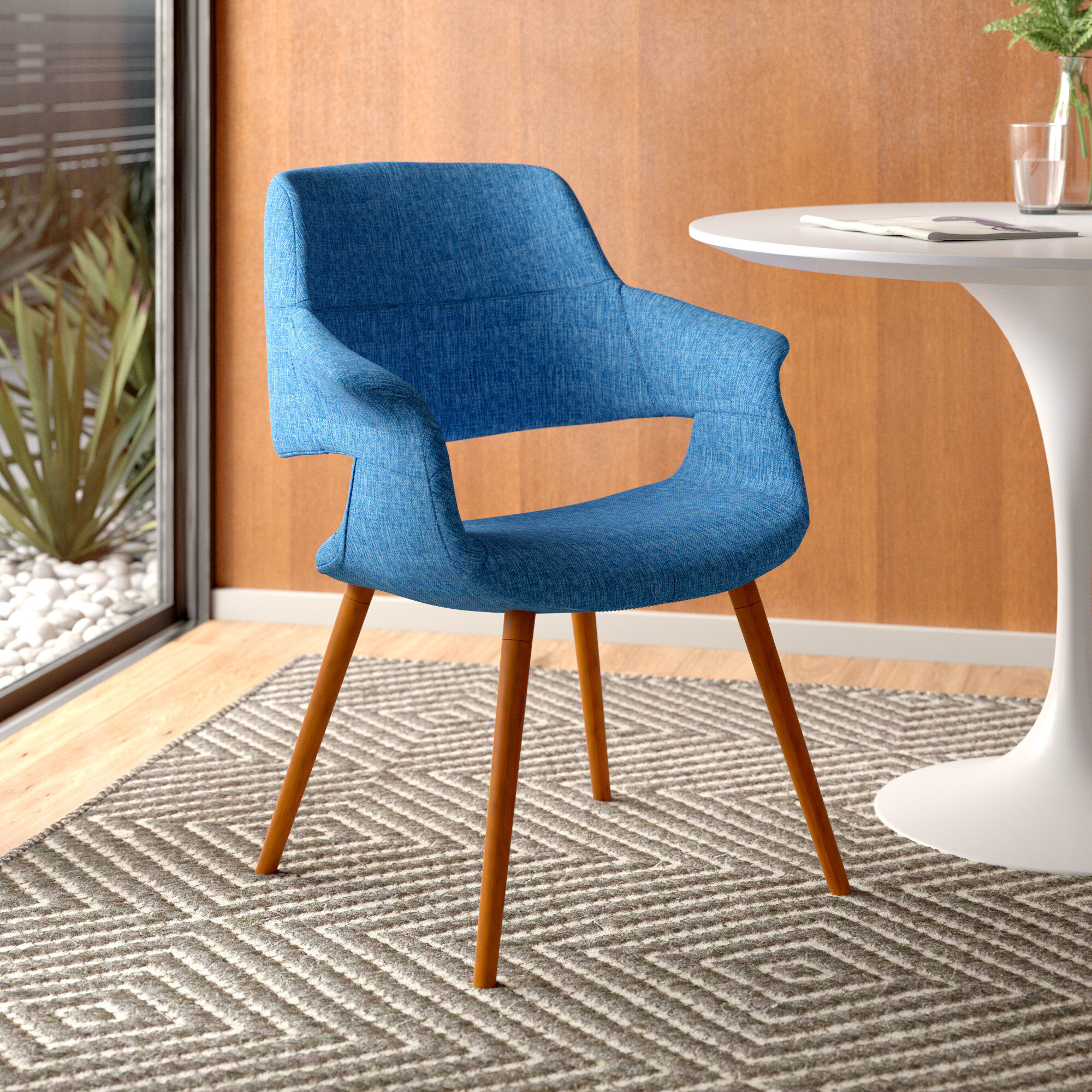 Allmodern Colby Upholstered Dining Chair Reviews Wayfair