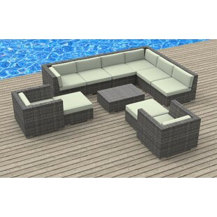Karla 11 Piece Sectional Set with Cushions