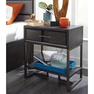 Diehl 1 Drawer Nightstand by 17 Stories