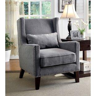 Alcott Hill Aura Wingback Chair