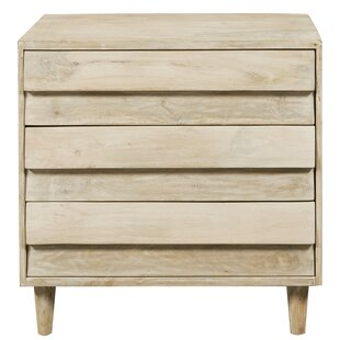 Raheem Reclaimed Look 3 Drawer Accent Chest by Foundry Select