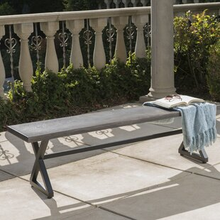 Bohra Outdoor Aluminum Picnic Bench by Union Rustic Read Reviews