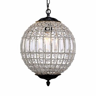 Astoria Grand Franz 1-Light Crystal Pendant