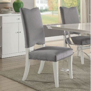 Affordable Juliette Upholstered Dining Chair (Set of 2) by Mercer41 Reviews (2019) & Buyer's Guide