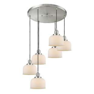Mikels 6-Light Cluster Pendant by Williston Forge