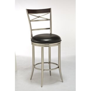 Glastbury Bar & Counter Stool Swivel Stool by Latitude Run