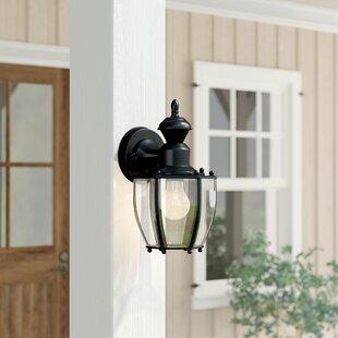 Three Posts Tharpe 1-Light Outdoor Wall Lantern