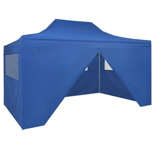 3m X 4.5m Steel Pop-Up Party Tent By Freeport Park