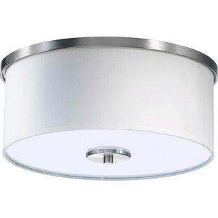 Ebern Designs Perrigo 2-Light Flush Mount