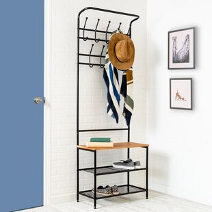 Entryway Storage Coat Rack..