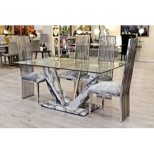 Review Molly Dining Set With 4 Chairs