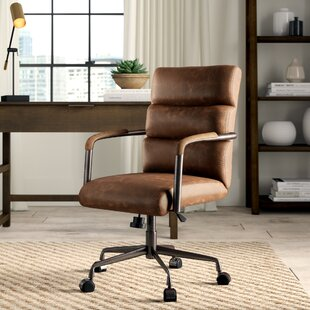 Springtown Genuine Leather Conference Chair