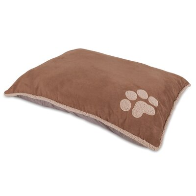 "Shearling Knife Edge Dog Pillow Bed Aspen Pet Size: Small (36"" L X 27"" W)"