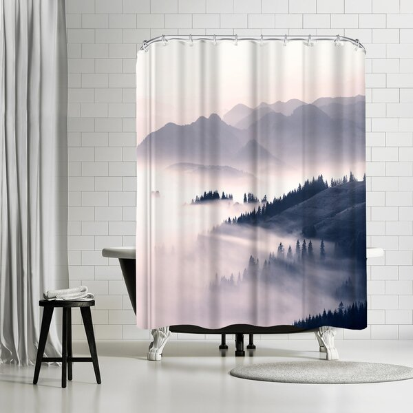 East Urban Home Sisi And Seb Morning Sun Single Shower Curtain Wayfair