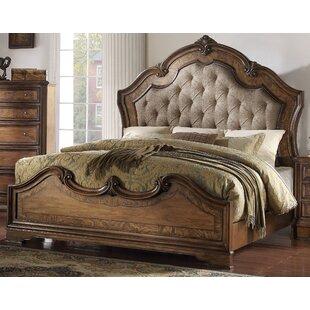 Astoria Grand Bianca Upholstered Panel Bed