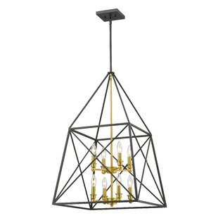 Tolya 8-Light Geometric Chandelier