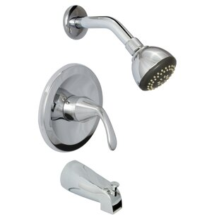 Huntington Brass Trend Diverter Tub and Shower Faucet with Trim