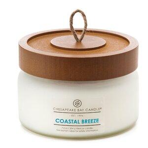 Heritage Coastal Breeze Glass Jar Candle