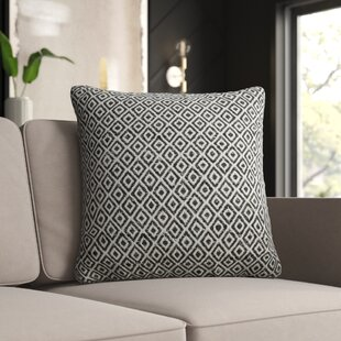 Leaman Tribal Pattern Cotton Throw Pillow