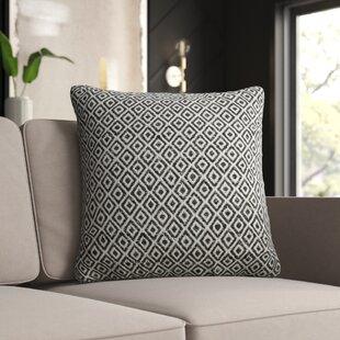 Leaman Tribal Pattern Cotton Throw Pillow