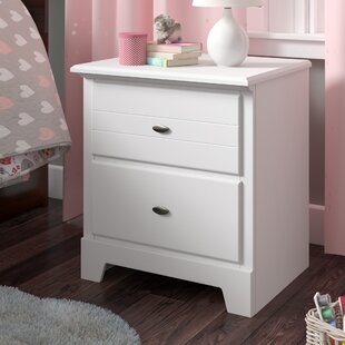 Reviews Amarion 2 Drawer Nightstand by Grovelane Teen