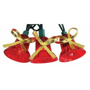 incandescent musical bell 40 light string lights